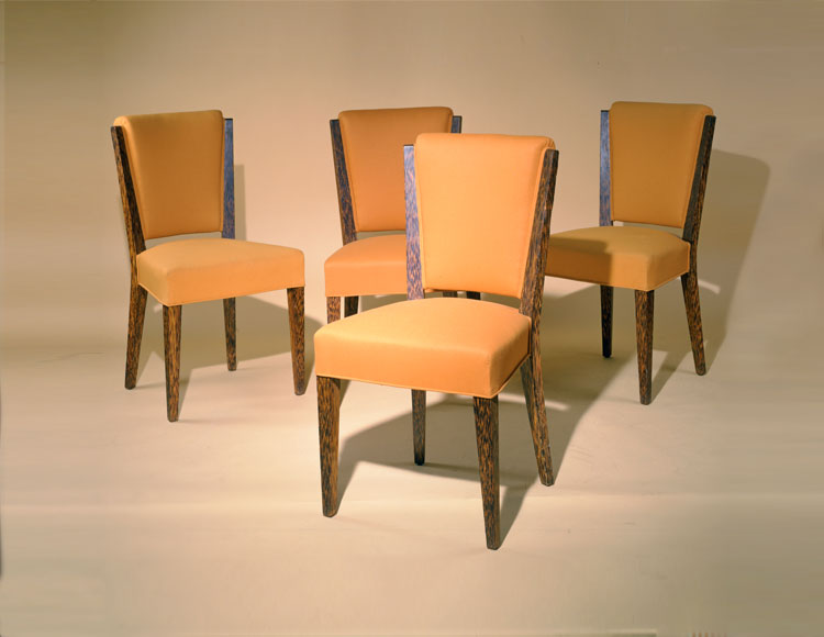 Printz palm Wood Chairs