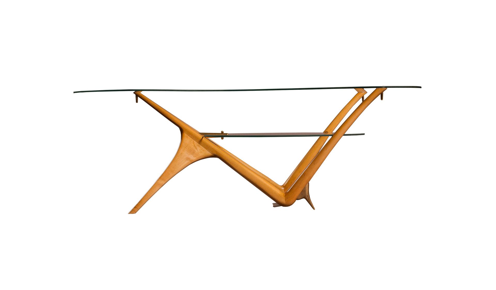 Carlo Mollino Style Coffee Table