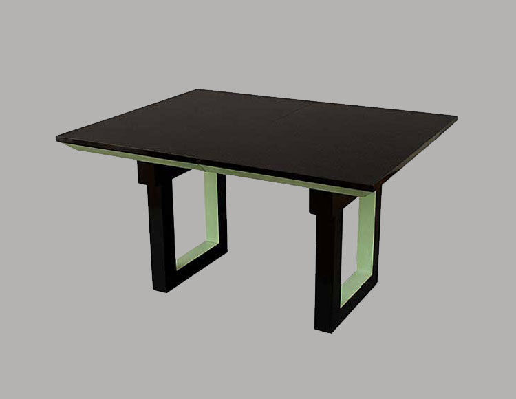 Pierre Chareau Bicolor Dining Table